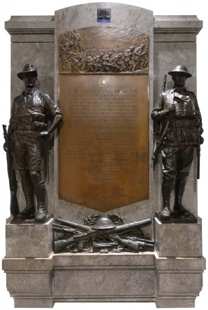 9th Australian Infantry Battalion plaque