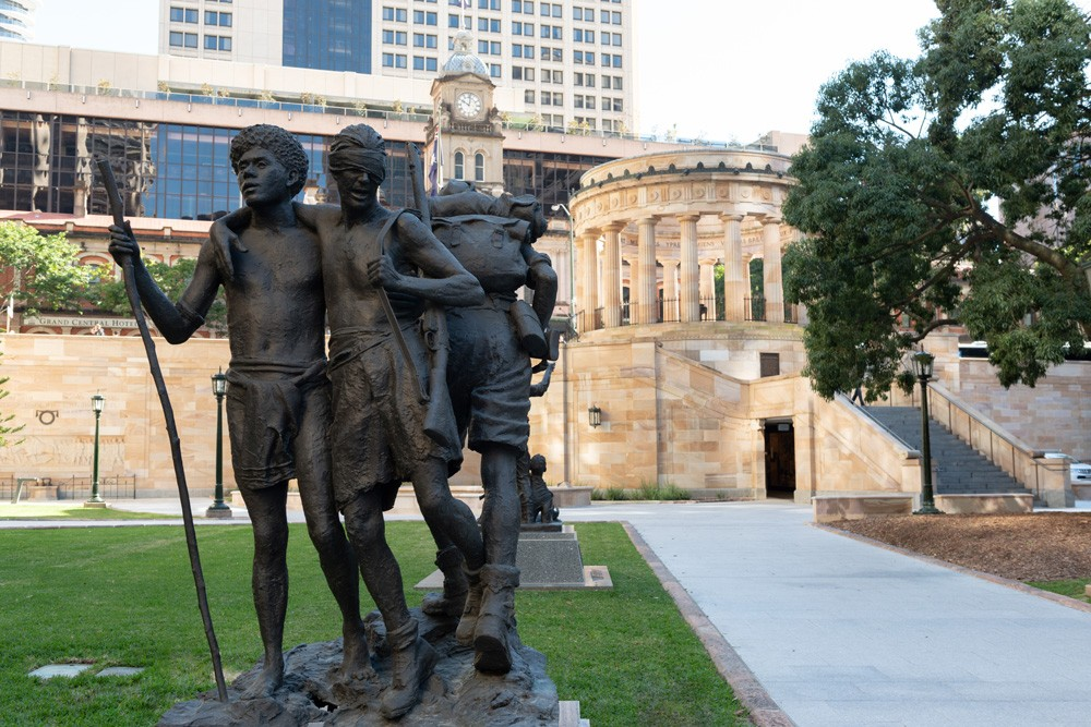 State Library of Queensland South West Pacific Campaign Memorial