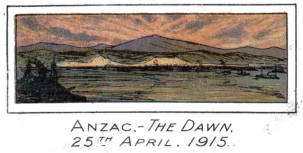 Detail from Anzac Day 25th April, 1916 [programme]