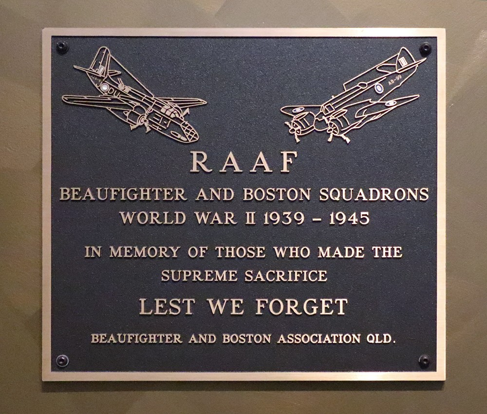 RAAF Beaufighter and Boston Squadrons