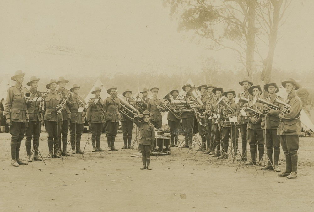 Military band of the 15th Battalion